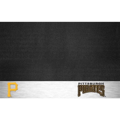 fanmats pittsburgh 26 in x 42 in grill mat 12165