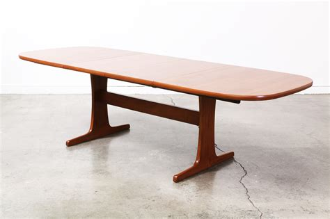 Modern Teak Dining Table Modern Teak Dining Table Vintage Supply Store