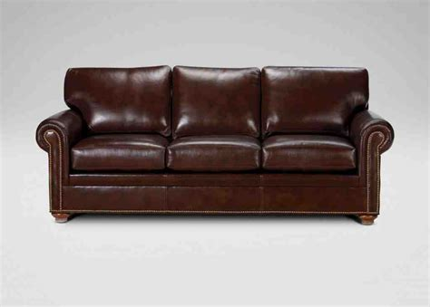 ethan allen leather ottoman ethan allen leather sofa home furniture design