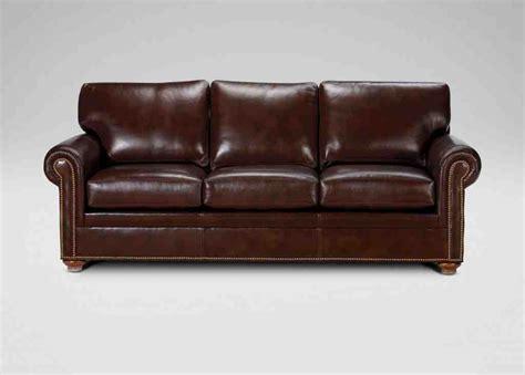 leather sofa ethan allen ethan allen leather sofa home furniture design