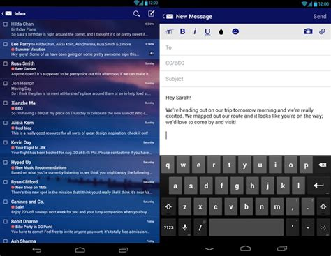 yahoo mail for android yahoo mail problems resolved in 4 5 1 today product reviews net