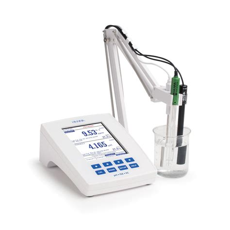 bench com ph laboratory research grade benchtop ph mv ise and ec tds