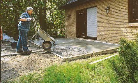garage betonieren bodenplatte fundamente selbst de