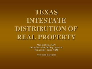 texas probate code section 38 ppt texas intestate distribution of real property