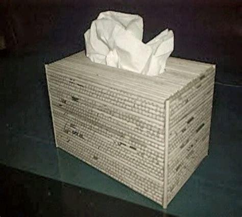 cara membuat kerajinan wadah tisu cara membuat tempat tisu dari koran bekas zona kreatif