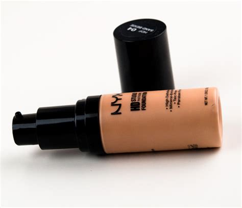 Nyx Hd Foundation nyx hd studio foundation review photos swatches