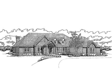 eplans new american house plan distinctive arches in 37 best ranch style house plans images on pinterest