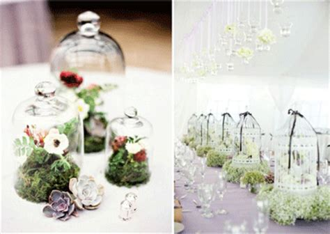eco green wedding reception ideas wedding decorations