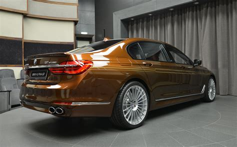 b7 bmw bmw alpina b7 biturbo individual in chestnut bronze