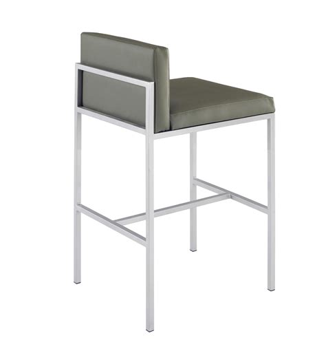 Low Back Metal Counter Stools by 9661 Comida Metal Counter Stool
