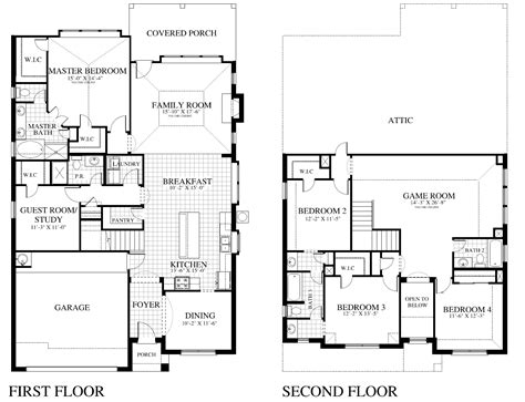 plan 2885 d saratoga homes