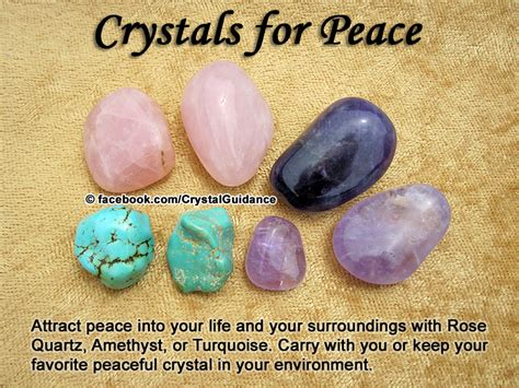 crystals  peace crystal guidance