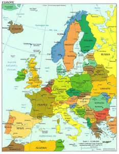 Europe Travel Map by Good News May 2011