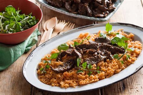 Nasi Pecel Samset Paket Murah Makan Makan Siang lezatnya nasi merah daging sapi untuk makan siang supplier distributor daging sapi jual