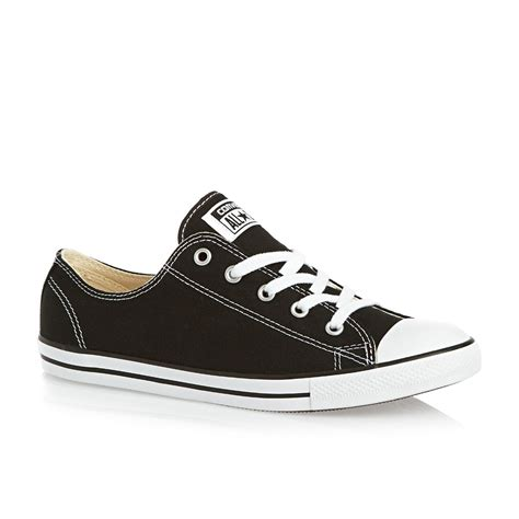 all shoes converse chuck all dainty ox shoes black