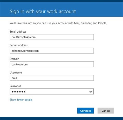 email microsoft account how to setup windows 8 1 mail app without using a