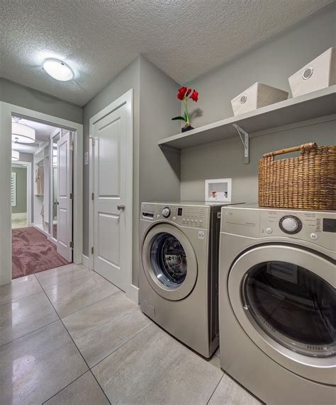 second floor laundry room home