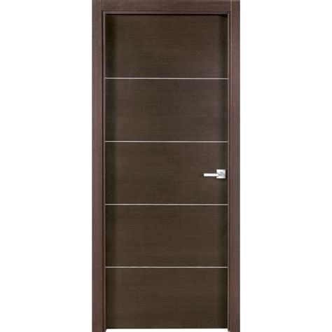 puerta interior madera puerta de madera con acabado wengu 233 plw 5 puertas de