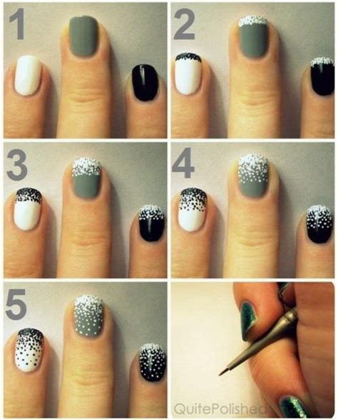 easy nail art designs step by step nail art step by step step by step nail designs