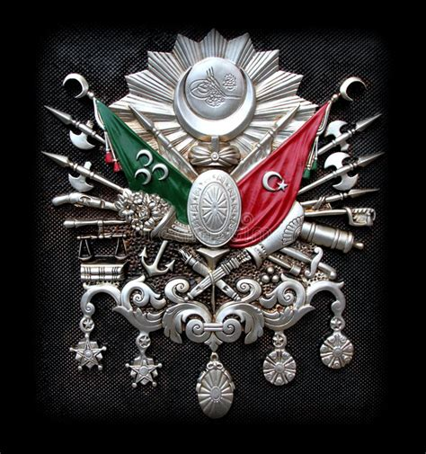 Ottoman Emblem Ottoman Empire Emblem Stock Image Image Of Black Arms 35755179