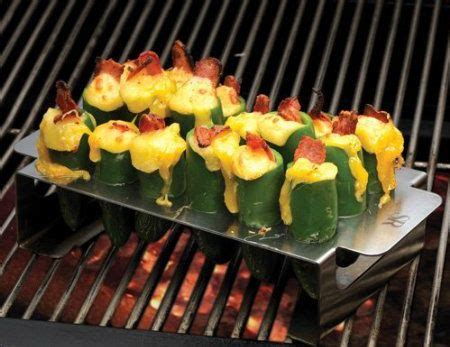 Backyard Grill Jalapeno Pepper Cooker Jalapeno Pepper Grill Rack I Want One Of These