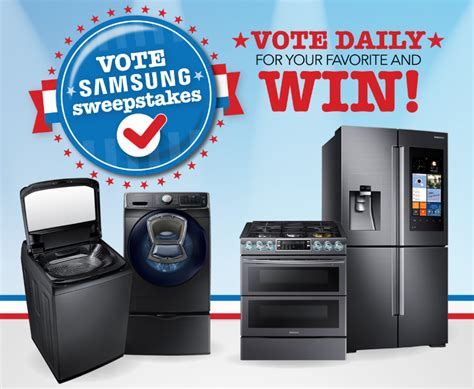 Hhgregg Sweepstakes - hhgregg vote samsung sweepstakes familysavings