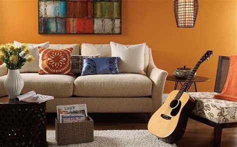 red paint colors for living room what color to paint living room with red couch casual