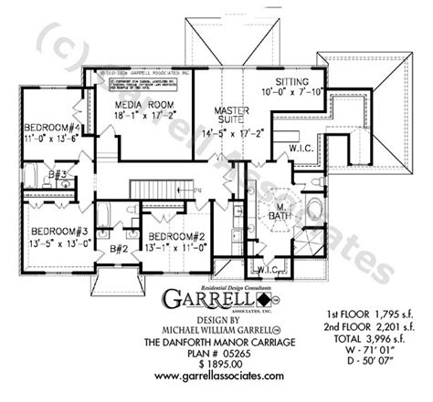 carriage house floor plans danforth manor carriage house plan house plans by