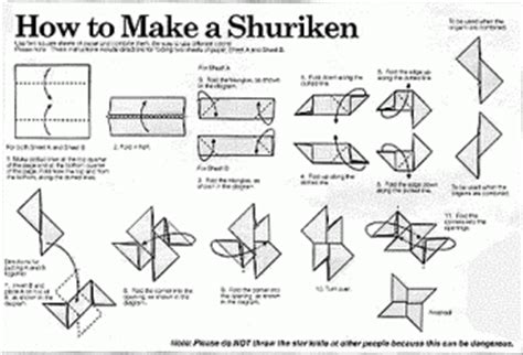 How They Make Paper - how to make a shuriken out of paper strange to the