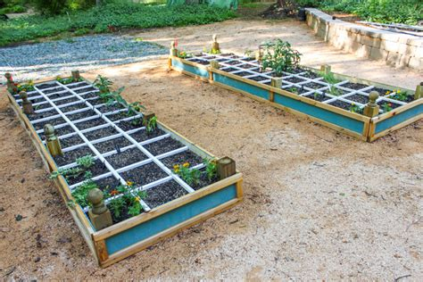build a square foot garden wired how to wiki how to build a square foot gardening grid that won t rot
