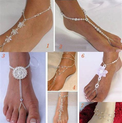 how to make footless sandals wedding barefoot sandals alldaychic