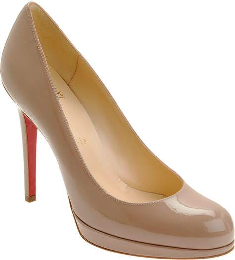 Christian Louboutin Platform Heels by Christian Louboutin New Simple Platform Pumps In Purple