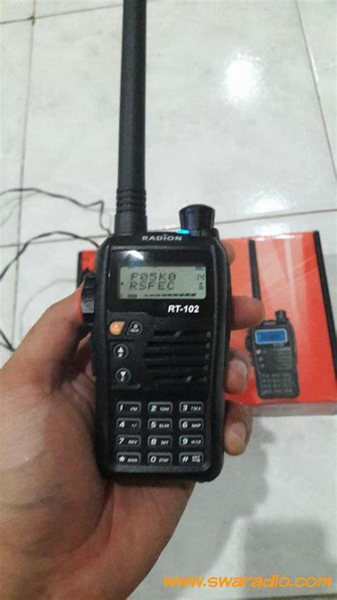 Ht Handy Talky Radion Rt 102 Dual Band Vhf Uhf radion rt 102 swaradio