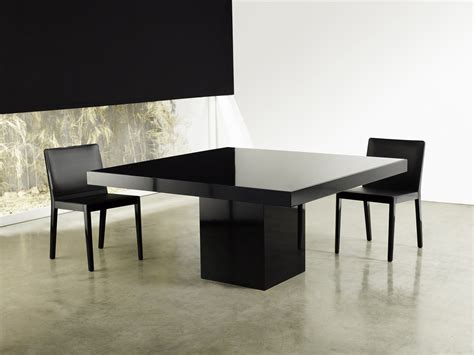Square Contemporary High Gloss Dining Table Lexington Dining Table Modern