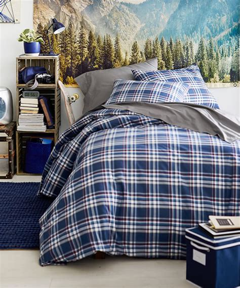 plaid boys bedding teen boy bedding teen comforters bedding sets