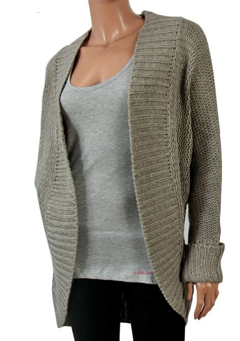 cable knit cocoon cardigan new womens brave soul cocoon chunky cable knit