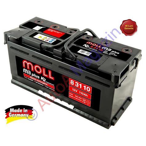 Auto Moll by Baterie Auto Moll M3 Plus K2 110ah 900a Acumulatori Auto