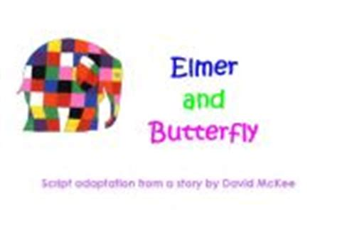 elmer and butterfly english teaching worksheets elmer the elephant