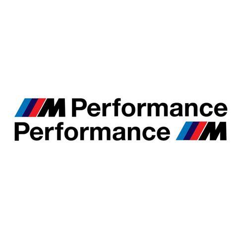 Auto Aufkleber Bmw by Sticker Bmw M Performance