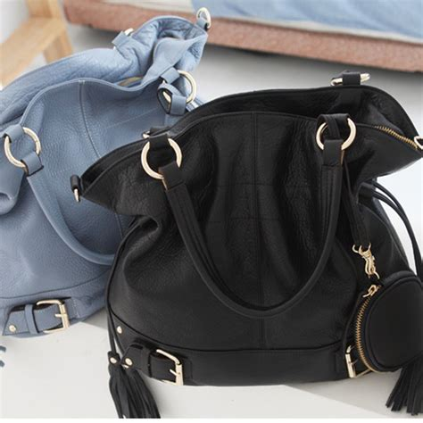 K1215 Baguette Fashion Import Pattern Black new leather handbag shoulder bag brown black hobo tote purse designer ebay