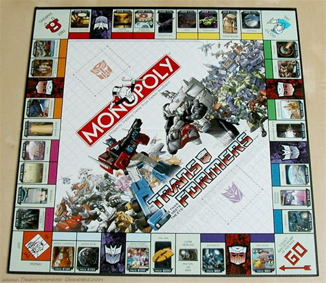 Monopoly Transformers transformers universe g1 monopoly 3 9