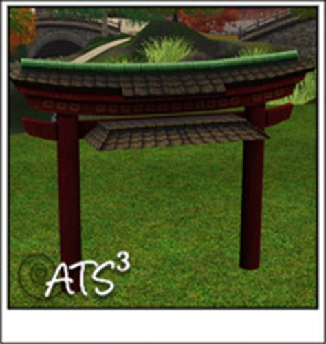 sims 3 awning around the sims 3 custom content downloads objects decorative misc