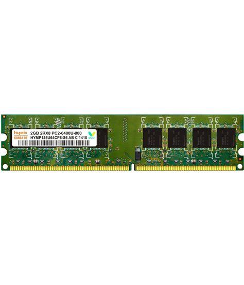 Ram 2gb Pc Ddr2 hynix desktop ddr2 2gb 800 mhz ram buy hynix desktop