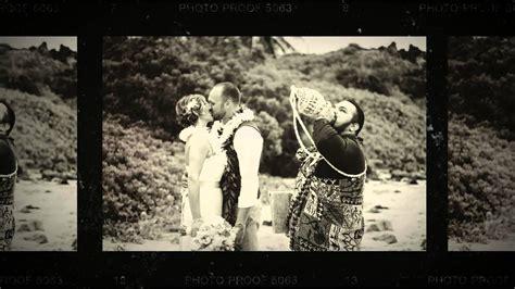 hawaii wedding packages  simple maui wedding youtube