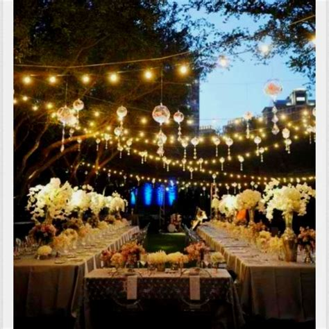 Outside Lighting Ideas For Parties