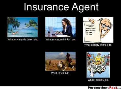 Insurance Agent: Insurance Agent What My Friends Think I Do