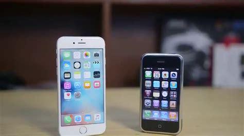 a iphone 1 iphone 1 против iphone 6s