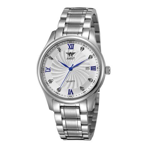 Amst Jam Tangan Analog Pria Stainless Steel Am1040 Murah amst jam tangan analog pria stainless steel am2001 silver blue jakartanotebook