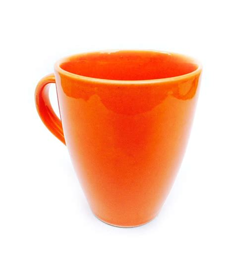 elegant coffee mugs jocular elegant coffee mug orange buy online at best