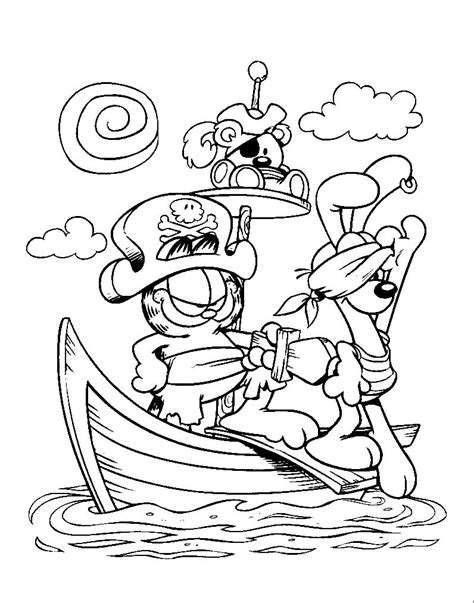 garfield coloring pages garfield coloring pages coloringpages1001